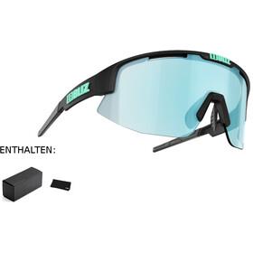 Bliz Matrix M11 Okulary dla wąskich twarzy, matte black/smoke/icy blue multi